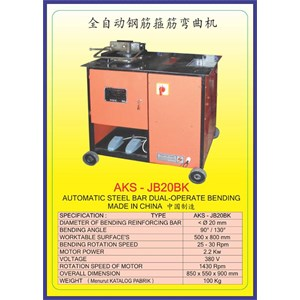 ALAT ALAT MESIN Steel Bar Bender JB20BK