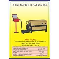 MESIN PEMOTONG BESI Steel Bar Straightening & Drawing SL412