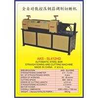 MESIN PEMOTONG BESI Steel Bar Straightening & Drawing SL412HD
