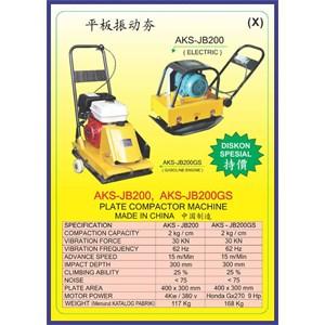 MESIN PEMADAT TANAH Vibration Impact Stamper & compactor JB200
