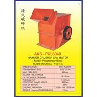 MESIN PEMECAH BATU Hammer Crusher POL6040