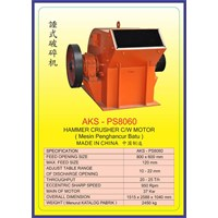 MESIN PEMECAH BATU Hammer Crusher PS8060