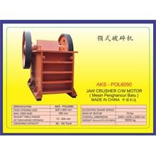 MESIN PEMECAH BATU Jaw Crusher POL6090