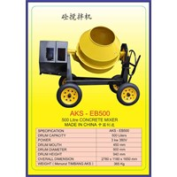 ALAT ALAT MESIN Concrete Mixer EB500 1