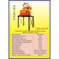ALAT ALAT MESIN Concrete Mixer HX75D 1