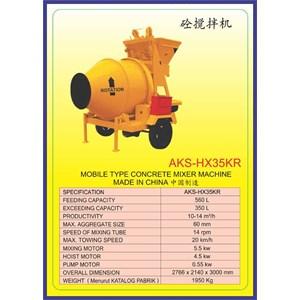ALAT ALAT MESIN Concrete Mixer HX35KR