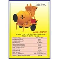 ALAT ALAT MESIN Concrete Mixer HX45KR 1