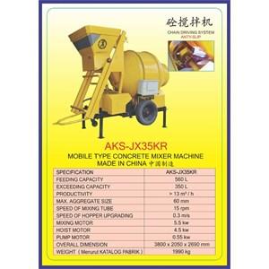 ALAT ALAT MESIN Concrete Mixer JX35KR