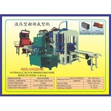 ALAT ALAT MESIN Hydraulic Block Making HA20HM