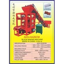 ALAT ALAT MESIN Hydraulic Block Making HA26CM