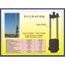 ALAT ALAT MESIN Guide Rod Pile Hammer COD65