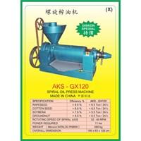 ALAT ALAT MESIN Spiral Oil Press GX120