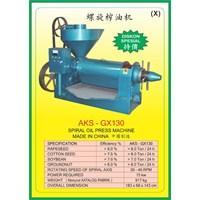 ALAT ALAT MESIN Spiral Oil Press GX130