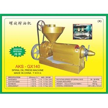 ALAT ALAT MESIN Spiral Oil Press GX140