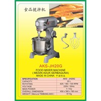 Jual MESIN PENGADUK Multifunction Food Mixer JH20G