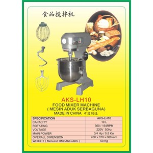 MESIN PENGADUK Multifunction Food Mixer LH10