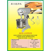 MESIN PENGADUK Multifunction Food Mixer LH20HS