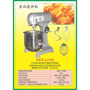 MESIN PENGADUK Multifunction Food Mixer LH30