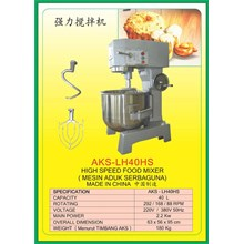 MESIN PENGADUK Multifunction Food Mixer LH40HS