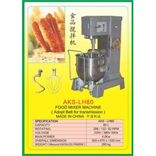 MESIN PENGADUK Multifunction Food Mixer LH80
