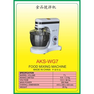 MESIN PENGADUK Multifunction Food Mixer WG7