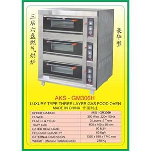 MESIN PEMANGGANG Gas Food Oven Series GM306H