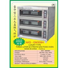 MESIN PEMANGGANG Gas Food Oven Series GM309H
