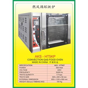 MESIN PEMANGGANG Gas Food Oven Series HT5KP