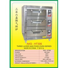 MESIN PEMANGGANG Gas Food Oven Series HT306