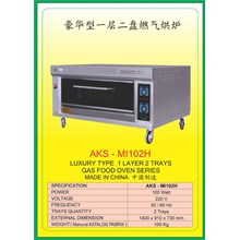 MESIN PEMANGGANG Gas Food Oven Series MI102H