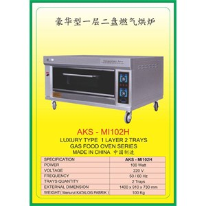 MESIN PEMANGGANG Gas Food Oven Series MI102H