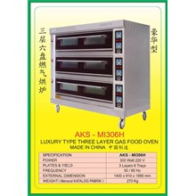 MESIN PEMANGGANG Gas Food Oven Series MI306H