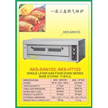 MESIN PEMANGGANG Gas Food Oven Series SAN103