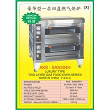 MESIN PEMANGGANG Gas Food Oven Series SAN204H