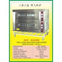 MESIN PEMANGGANG Gas Food Oven Series SAN206 1