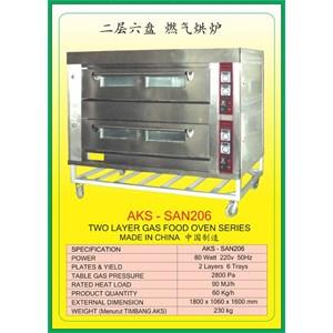 MESIN PEMANGGANG Gas Food Oven Series SAN206
