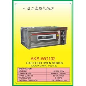 MESIN PEMANGGANG Gas Food Oven Series WG102