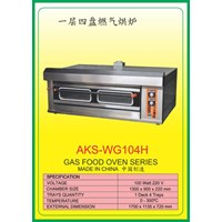 MESIN PEMANGGANG Gas Food Oven Series WG104H 1