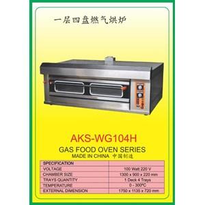 MESIN PEMANGGANG Gas Food Oven Series WG104H