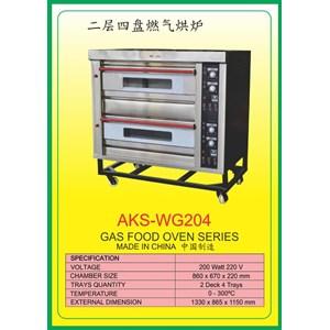 MESIN PEMANGGANG Gas Food Oven Series WG204
