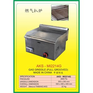 ALAT ALAT MESIN Gas Griddle & Pasta Cooker MI2214G