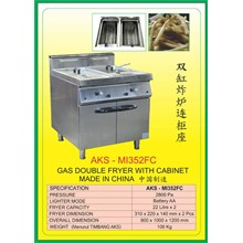 Mesin Penggorengan Gas Fryer & Gas Range MI352FC