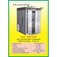 Jual Mesin Pemanggang Hot Air Rotary Furnace SAN12KP