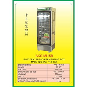 Dari Mesin Pemanggang Electric Bread Fermenting Box MI15B 0
