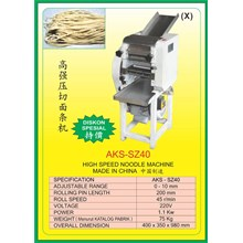 Alat Alat Mesin Dough Kneading & Noodle Maker SZ40