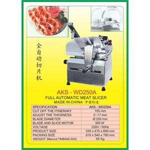 ALAT ALAT MESIN Meat Slicer WD250A