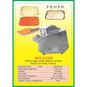 ALAT ALAT MESIN Fruit & Vegetable Cutter CC230