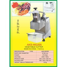 ALAT ALAT MESIN Fruit & Vegetable Cutter WD205