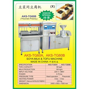 ALAT ALAT MESIN Tofu Machine TG60A