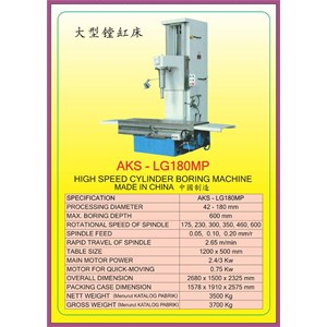 Dari ALAT ALAT MESIN Cylinder Boring & Honing Machine LG180MP 0